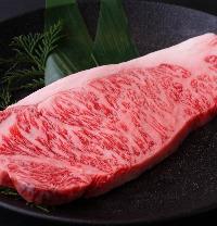 極上ステーキも味わえます◎コースではミスジもご用意!