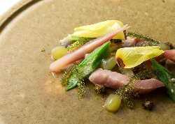 京野菜を中心に旬の食材をふんだんに使用