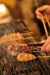 奈良の大和地鶏を活かしたお料理の数々