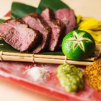 人気メニュー、地頭鶏と京赤地鶏食べ比べ!味の違いを楽しんで