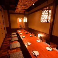 【山陽姫路駅徒歩3分】完全個室も完備!大人の隠れ家居酒屋♪
