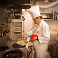 ◆:経験豊富な料理長:◆ 吟味した素材を存分に生かした逸品