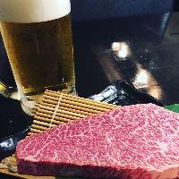 ステーキに最適なドリンクを多数ご用意!お気軽にお尋ねください