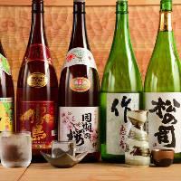 【日本酒】 全国各地のものを幅広く!滋賀の地酒もございます