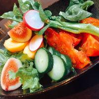 新鮮な兵庫県産の野菜にこだわっています。