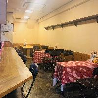 ◆カウンター席やテーブル席など、居心地の良い空間☆