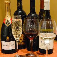 オーナー厳選ワインや紀州の梅酒、地酒などドリンクも充実◎