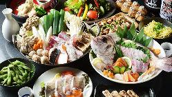 【新鮮魚介】 市場直送で仕入れる刺身は日本酒と合わせてどうぞ