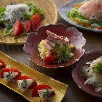 【お酒すすむ】 藁焼きをはじめお酒に合うお料理が豊富に揃う
