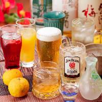 【多彩なドリンク】 季節酒や希少酒を含め充実のラインナップ♪