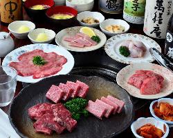上質な焼肉が食べ放題のコースや飲み放題付コースをご用意!