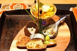 豪華さ・美味しさ・華やかさにもこだわったお料理の数々。