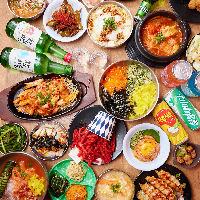 旨辛出汁とモツのプリプリ食感がたまらない!韓国風もつ鍋コース