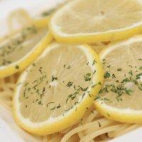 レモンをふんだんに使ったパスタが人気♪