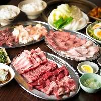 【宴会コース】 お腹いっぱい間違いなしのコース料理で宴会♪