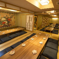 各種宴会におすすめの完全個室もご用意しております♪