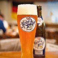 ドイツと言えばビール♪直輸入の樽生ビールで乾杯しませんか◎