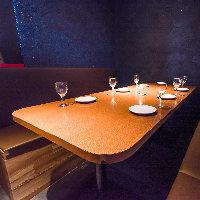 雰囲気抜群な個室空間でご宴会を。 貸切宴会も承っております!