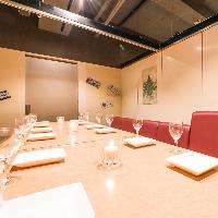 バラエティ豊かな個室席を多数ご用意!個室も完備しております。