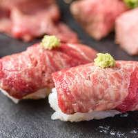 コストパフォーマンス◎今話題の肉寿司なども大満足の食べ放題!