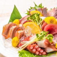 獲れたて新鮮なお魚を使用◎鮮魚の美味しさ思うぞ分感じれます♪