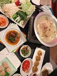 予約限定コース!(全9品)美味な韓国おすすめコースをぜひ!