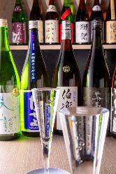 日本酒と鮪のマリアージュをお楽しみいただけます。