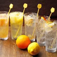 【ゴクゴクサワー】 爽やかなフルーツの風味が美味しい1杯