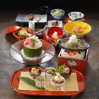 日本料理総料理長 平野 規元による美しい日本料理を。