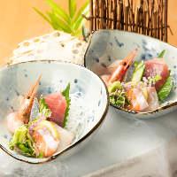 魚舟宴会コースは2時間飲み放題付きで4000円~!