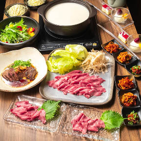 たんしゃぶ 肉料理のはじめ