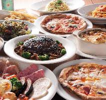 イタリアンやフランス家庭料理をご提供しております。