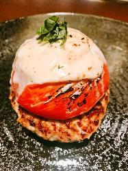 完熟トマトととろ-りモッツレラチーズ