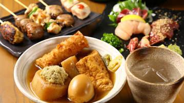 地鶏と鶏だしおでん 鷹仁 堀江店