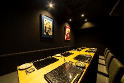接待や会食といった大事は場面でもご利用頂ける個室も完備