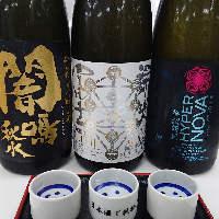 全国各地の銘酒を取り揃えています。希少な日本酒に出会えるかも