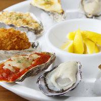 生牡蠣&焼き牡蠣 Fresh & Grilled Oyster