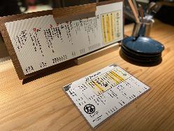 青森、北海道の鮮魚、大分和牛を使用しこだわりぬいたメニュー