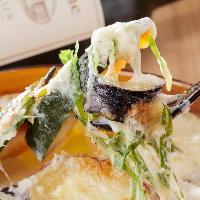 京野菜をたっぷり使ったグラタンなど京都を感じるお料理が豊富