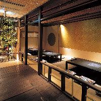 大阪のど真ん中マルビル3階に【京の町家】を再現