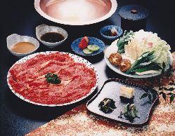 近江牛しゃぶしゃぶなど お鍋料理は他にも多彩にご用意