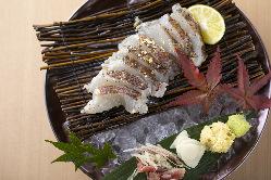 当店名物の藁焼きの美味しさを是非ご堪能ください
