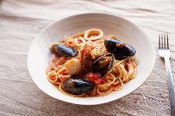 ペスカトーレ 魚介のスパゲッチ