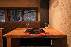デートや会食にぴったりな空間