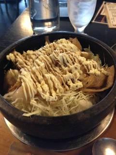 生姜焼きビビンバ