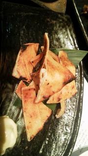 エイヒレ炙り焼き
