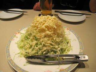 大人気パリじゃがとキャベツの旨いサラダ