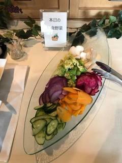 本日の鎌倉野菜