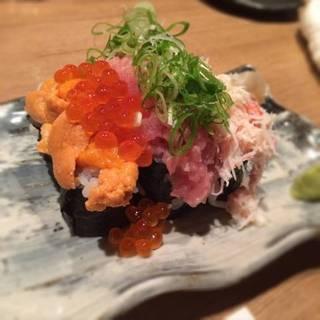 栞ぶっかけ寿司