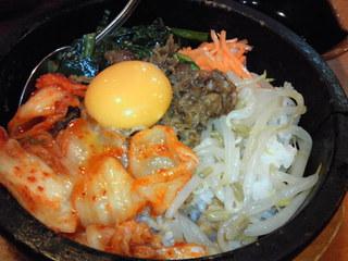 韓国風石焼ビビンバ